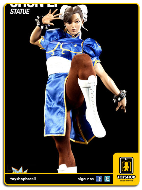 Street Fighter: Estátua Chun-Li Mixed Media - Pop Culture