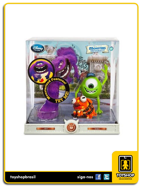 Monsters University: Art & Mike - Disney Store