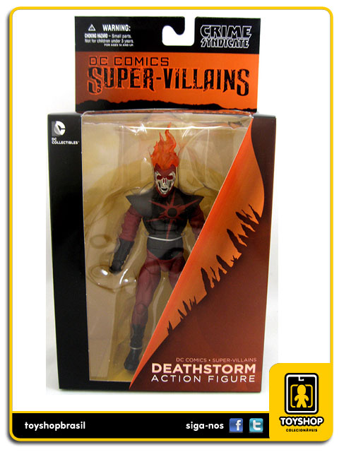 The New 52: Deathstorm - Dc Collectibles