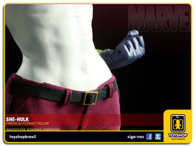 Estátua She-Hulk Premium Format - Sideshow Collectibles