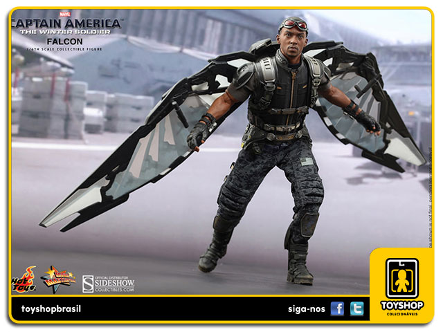 Captain America The Winter Soldier: Falcon - Hot Toys