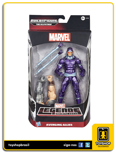 Marvel Legends Infinite: Machine Man - Hasbro