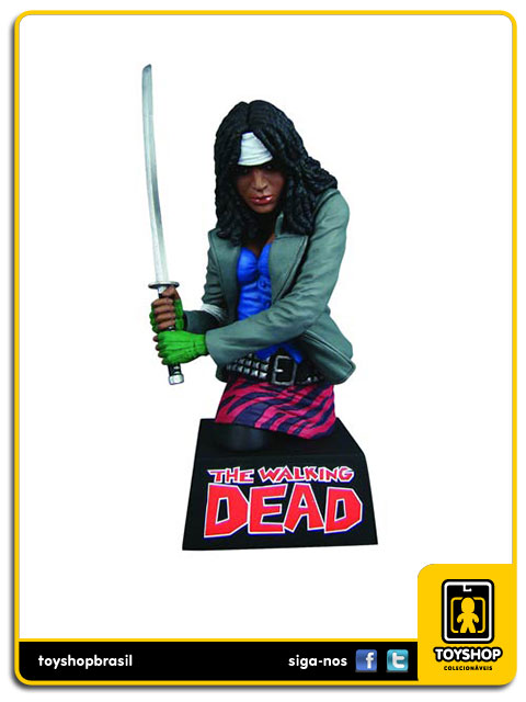 The Walking Dead: Michonne Bust - Diamond