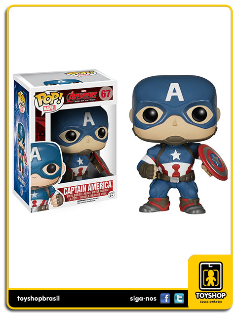 Avengers Age of Ultron: Captain America Pop - Funko