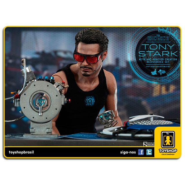 Iron Man 2: Tony Stark with Arc Reactor Creation - Hot Toys