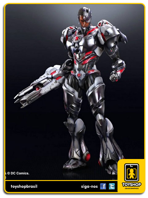Play Arts DC Comics: Cyborg Variant - Square Enix