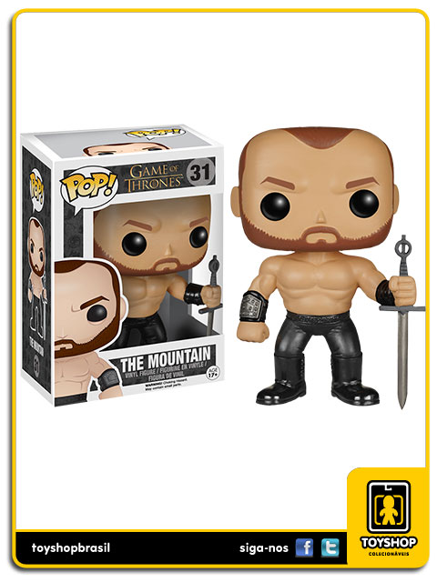 Game of Thrones: The Mountain Pop - Funko