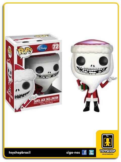 Nightmare Before Christmas: Santa Jack Skellington Pop - Funko
