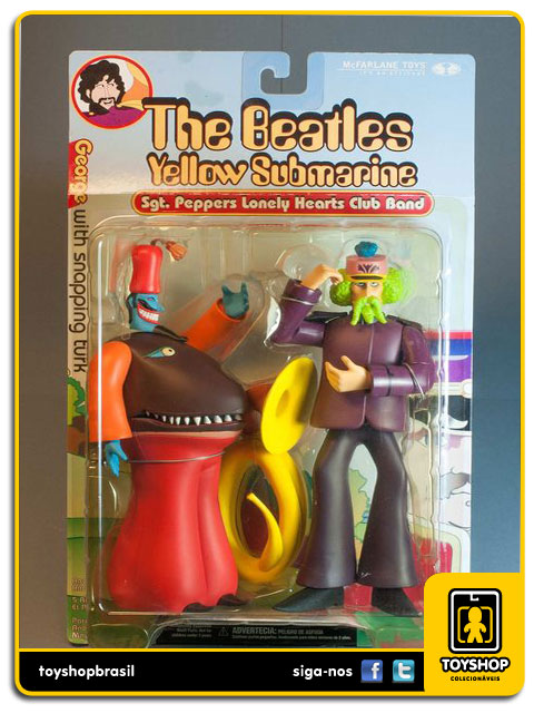 The Beatles Yellow Submarine: George with Snapping Turk - Mcfarlane