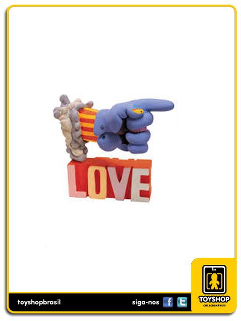 The Beatles Yellow Submarine: John with Glove and Love Base - Mcfarlane
