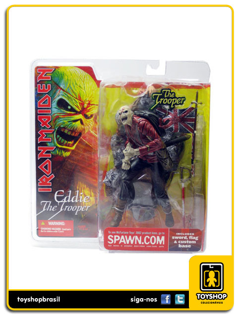 Iron Maiden: Eddie the Trooper - Mcfarlane