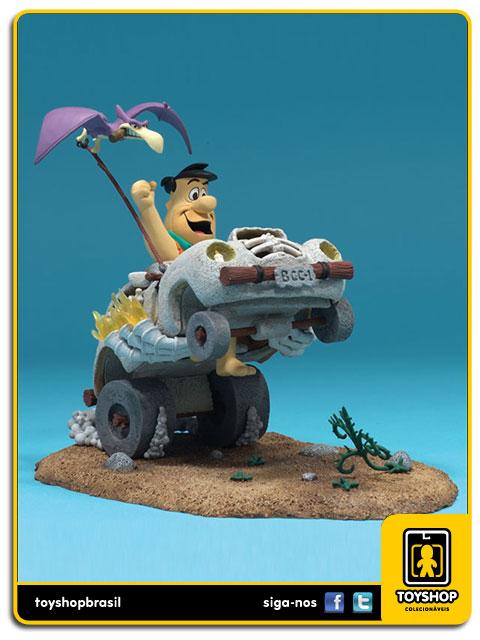 Hanna Barbera: Fred Flintstone in Cruiser - Mcfarlane