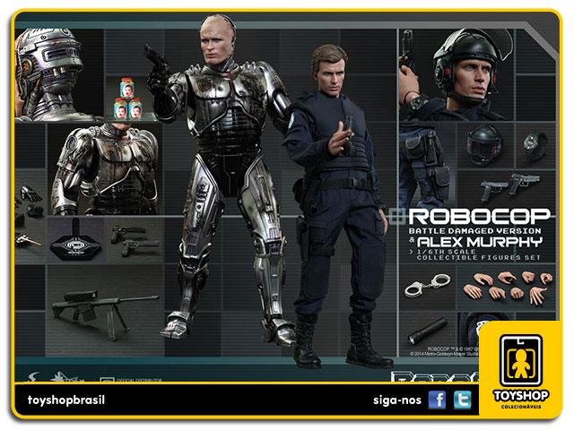 RoboCop: RoboCop Battle Damaged - Hot Toys