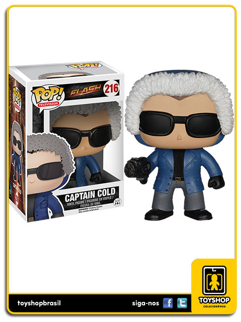 The Flash: Captain Cold Pop - Funko