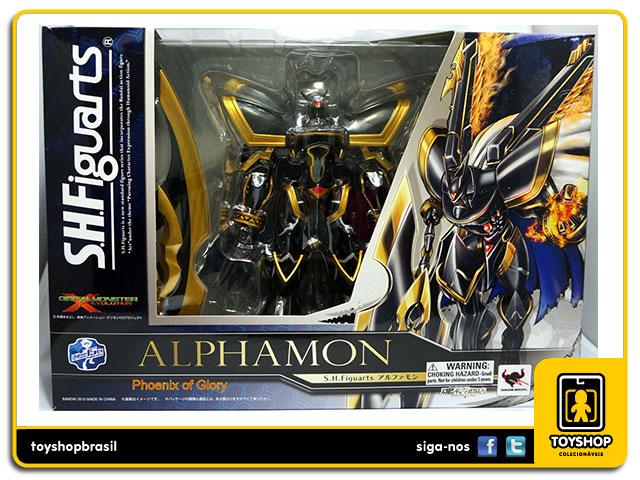 Digimon S.H. Figuarts: Alphamon - Bandai
