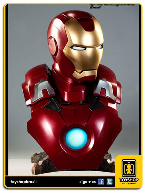 The Avengers: Iron Man Mark VII Life Size Bust - Sideshow