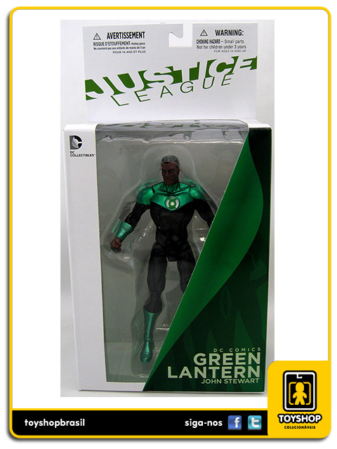 The New 52: Green Lantern John Stewart - DC Collectibles