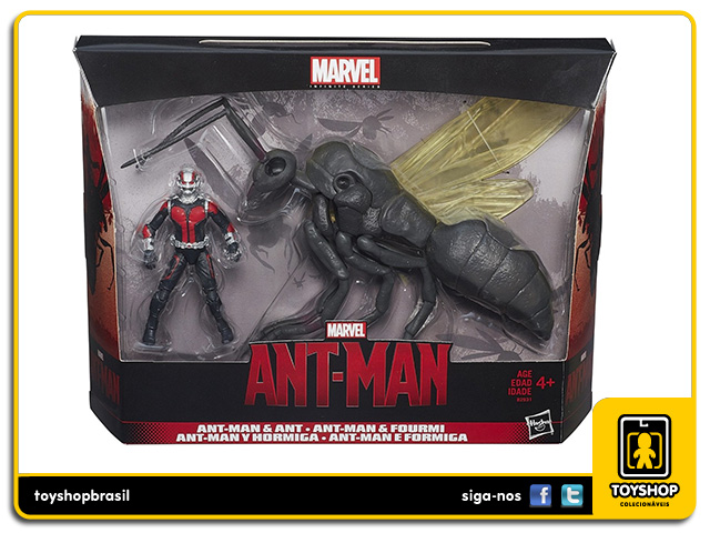 Marvel Infinite: Ant-Man & Ant - Hasbro