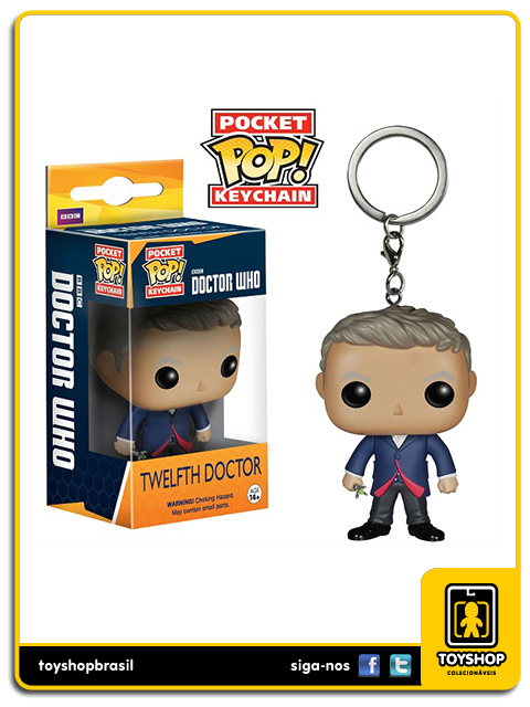 Doctor Who Pocket Pop: Twelfth Doctor Key Chain - Funko