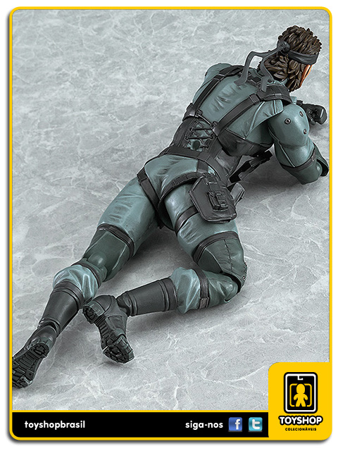 Metal Gear Solid 2: Solid Snake Figma - Good Smile