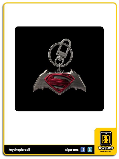 Batman v Superman: Pewter Keyring Box Set - Monogram
