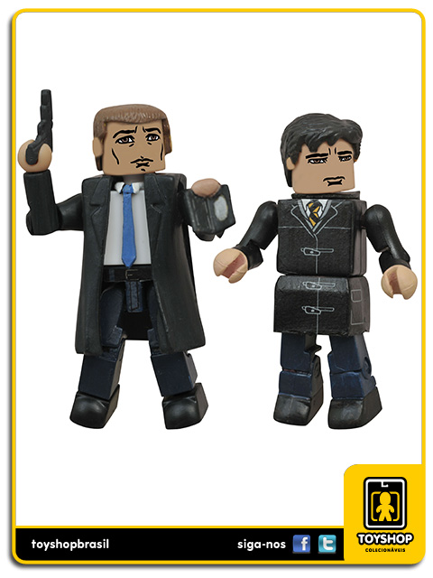 Gotham Minimates: Det. James Gordon & Bruce Wayne - Diamond