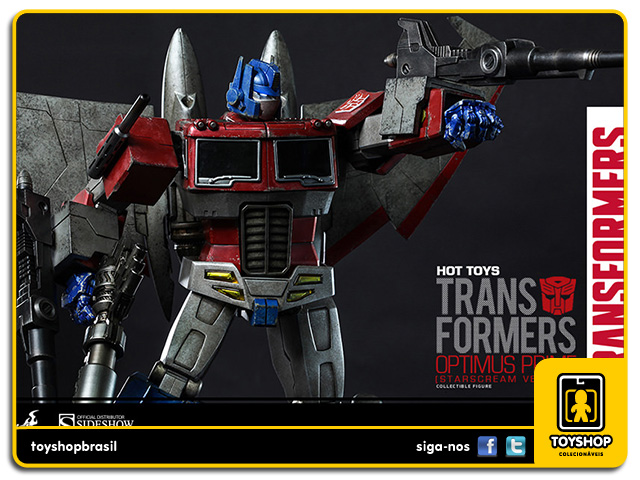 Transformers: Optimus Prime Starscream - Hot Toys