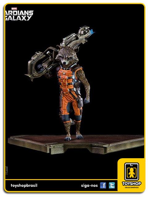 Guardians of the Galaxy: Rocket Raccoon 1/10 - Iron Studios