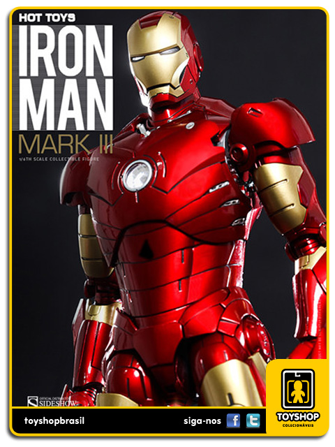 Iron Man: Iron Man Mark III Diecast - Hot Toys