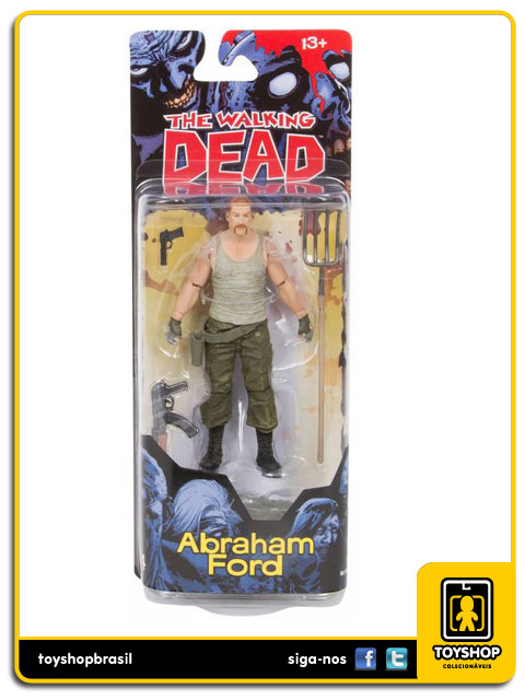 The Walking Dead Comic Book 4: Abraham Ford - Mcfarlane