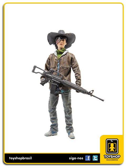 The Walking Dead Comic Book 4: Carl Grimes - Mcfarlane