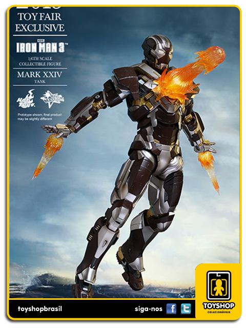 Iron Man 3: Iron Man Mark XXIV Tank - Hot Toys