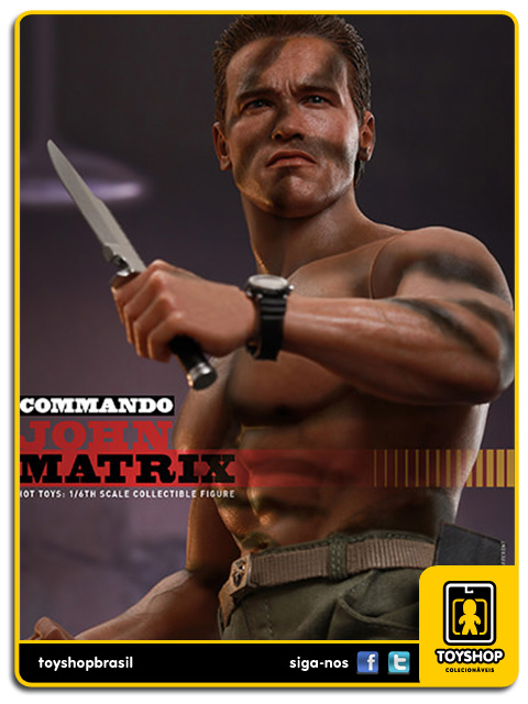 Commando: John Matrix 1/6 - Hot Toys