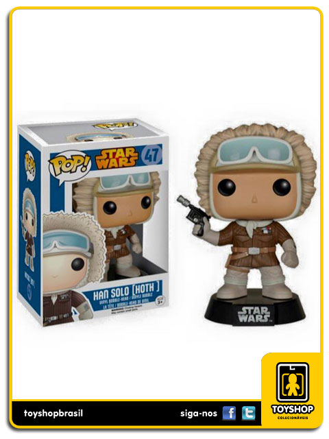 Star Wars: Han Solo Hoth Gamestop Pop - Funko
