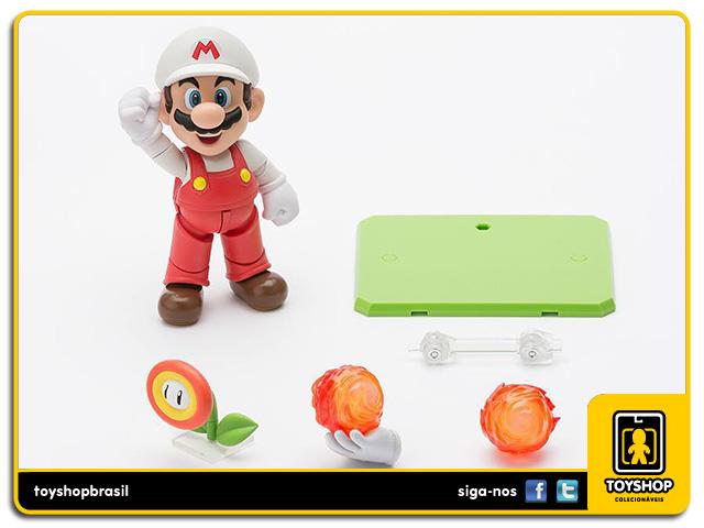 Super Mario Bros S.H. Figuarts: Fire Mario - Bandai