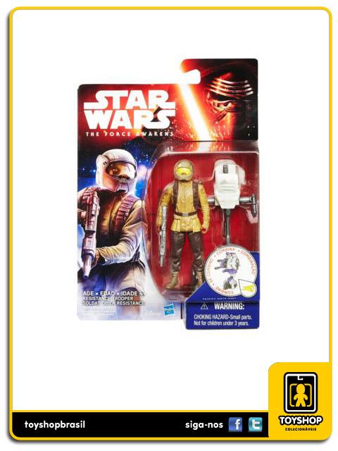Star Wars The Force Awakens: Resistance Trooper - Hasbro