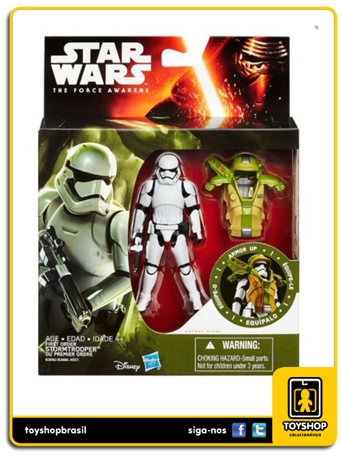 Star Wars The Force Awakens: Stormtrooper Armor Up - Hasbro