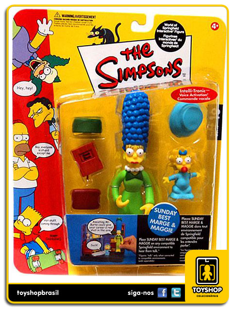 The Simpsons: Sunday Best Marge & Maggie - Playmates