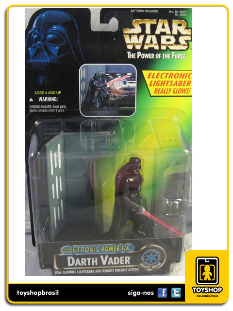 Star Wars The Power of the Force: Darth Vader Electronic Power F/X - Hasbro