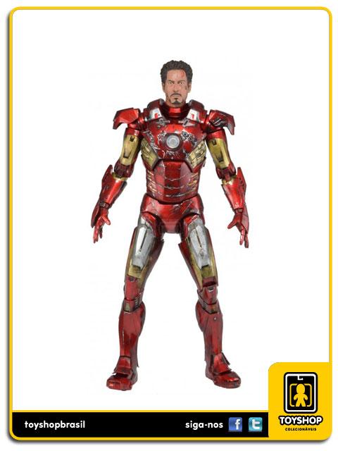 The Avengers: Iron Man Mark VII  Battle Damaged - Neca