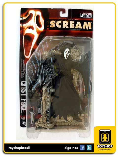 Movie Maniacs: Ghost Face - Mcfarlane