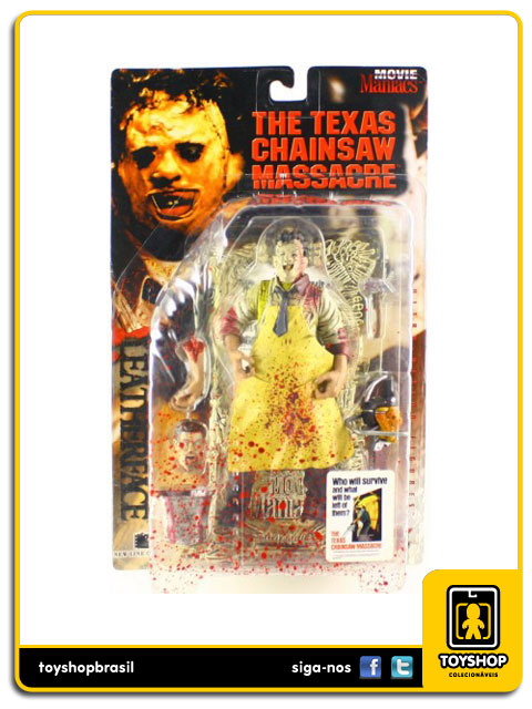 Movie Maniacs: Leatherface  - Mcfarlane