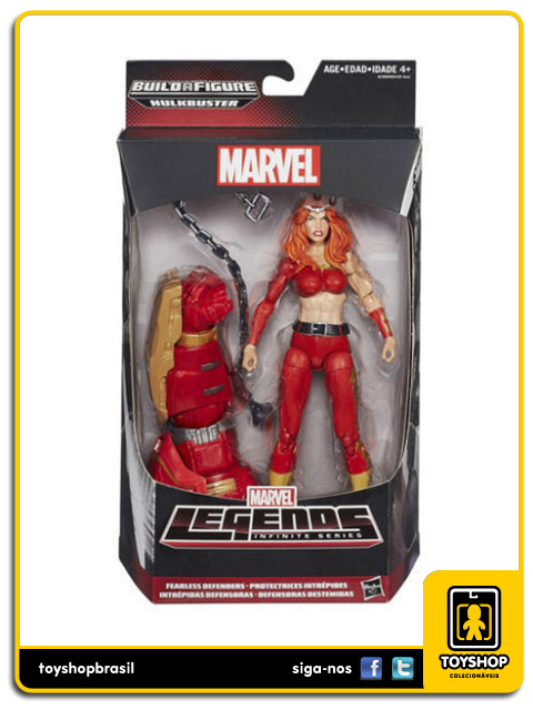 Marvel Legends Infinite Hulkbuster: Thundra - Hasbro