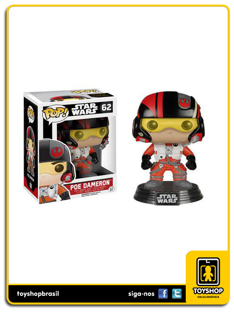 Star Wars The Force Awakens: Poe Dameron Pop - Funko