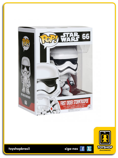 Star Wars The Force Awakens: First Order Stormtrooper Pop - Funko