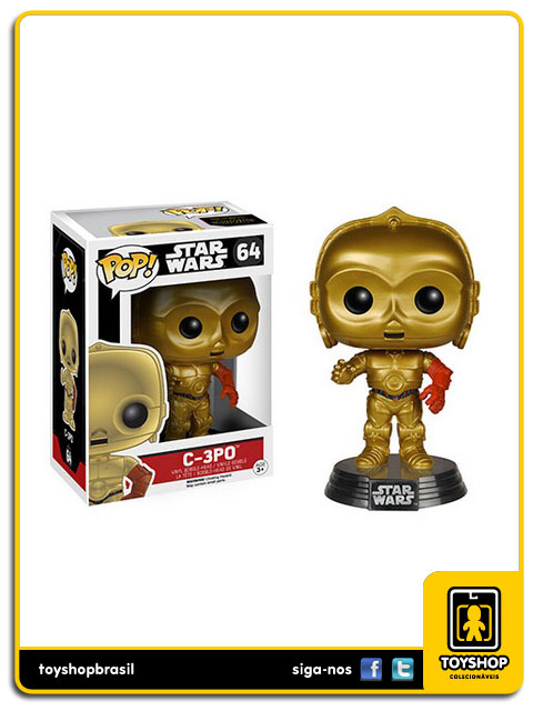 Star Wars The Force Awakens: C-3PO  Pop - Funko