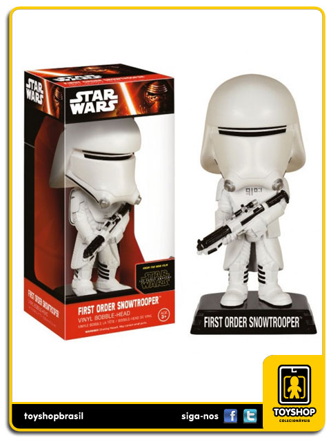Star Wars The Force Awakens: First Order Snowtrooper Bobble Head - Funko