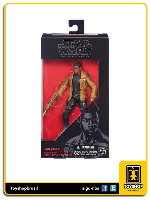 Star Wars The Force Awakens Black Series: Finn Jakku - Hasbro