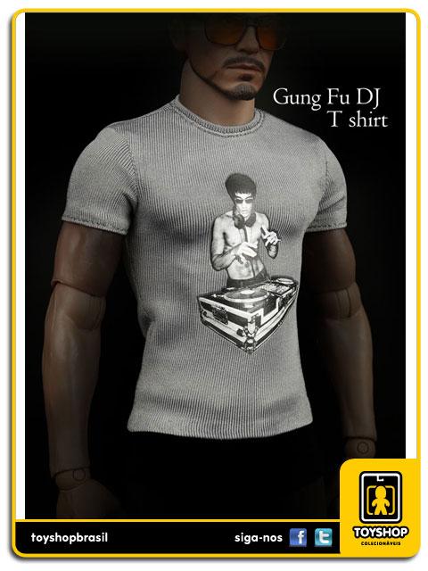 Camiseta Kung Fu DJ: Tony Stark 1/6 - Magic Cube Toys