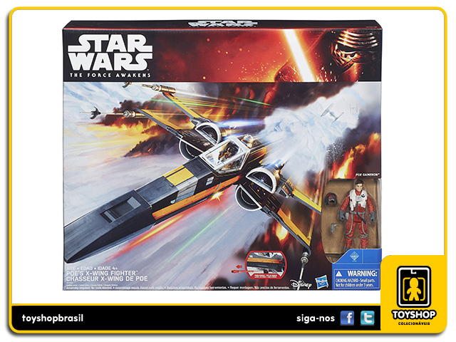 Star Wars The Force Awakens: Poe´s X-Wing Fighter - Hasbro